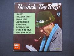 Disque 33 Tours : Hey Jude / Hey Bing  BING CROSBY  & - Blues