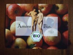 Adam & Eve Amoe Bio Carte Postale - Publicidad