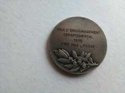 Médaille En Argent Prix D'encouragement De Tir - Francia
