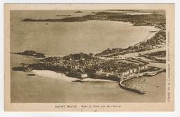 35 - Saint-Malo    Port Et Côte Vus De L'Ouest - Saint Malo
