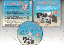 CD IL MEGLIO DELL'ESTATE 60 - 70 - 80 - VIANELLO RIGHEIRA RUSSO ROBERTS FOCACCIA DEL TURCO FIORELLO LEALI NUOVI ANGELI - - Musicals