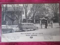 ST SEBASTIEN SUR LOIRE . RESTAURANT DE LA COTE - Saint-Sébastien-sur-Loire
