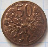 Czechoslovakia 50 Haleru 1948 - Tchécoslovaquie