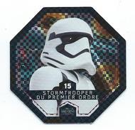 JU 15 (2) - JETON STAR WARS - Collection LECLERC 2016 - N° 15  -STORMTROOPER DU PREMIER ORDRE - Gift Cards