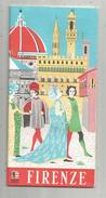 Plan , FIRENZE , Italie, 10.5 X 21.5 , 24 Pages , 2 SCANS , Frais : 1.55€ - Maps