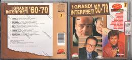 CD I GRANDI INTERPRETI ANNI 60-70 FONTANA TONY REITANO MENGOLI BACKY TESSUTO DINO DONATELLO ROBERTS VIANELLO ROCCHETTI - - Musicals