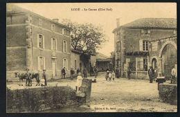CPA LOIZE - Deux-Sèvres- Le Canton -Côté Sud- Animée Bovins-Fontaine -  Scans Recto Verso-Paypal Sans Frais - Autres Communes