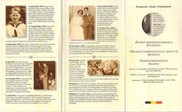 Baudouin - Cartonnage Vide De La Médaille Commémorative En Argent  1930 - 1993 - Medaillen