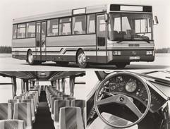FOTO 18X24 CM MERCEDES BENZ O 407 - Buses & Coaches