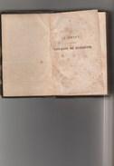 - Très Ancien Petit Livre Cartonné  1815/1820  De 260 Pages GULLIVER - 1801-1900
