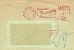 LRTTER ETTLINGEN   BADEN 1955 - Covers & Documents