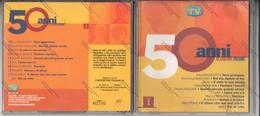 CD 50 ANNI DI CANZONI ITALIANE - RAMAZZOTTI MODUGNO MINA RANIERI BAGLIONI NEK FERRADINI RIGHEIRA PRAVO 883 - - Musicals