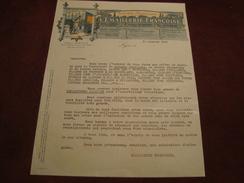 Lettre Société L'Emaillerie Françoise Plaques émaillées Lyon 1925 - 1900 – 1949