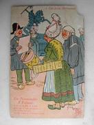 SCENES ET TYPES - Ces Bons Normands - En Normandie - A Falaise - Humour