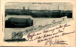Gruss Aus MAGDEBURG-BUCKAU - Fried. Krupp Grusonwerk - Magdeburg