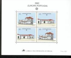 CEPT Postalische Einrichtungen Portugal Block 71 Postamt Santo Tirso  Postfrisch MNH ** - Europa-CEPT