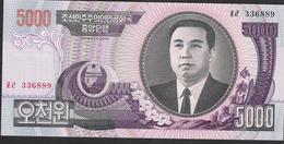 KOREA NORTH  NLP  5000 WON  2006   UNC. - Korea, North