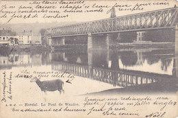 Herstal - Le Pont De Wandre (A H J, Mouton, Précurseur, 1903, Timbres) - Herstal