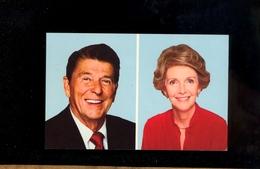 USA 40th President Ronald REAGAN And His Wife Nancy Inaugurated January 20 1981 / Président Etats Unis Amérique - Présidents