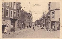 Herstal - Rue St Lambert (café, Animée, Oldtimer) - Herstal