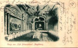 "Gruss Aus ""Café Hohenzollern"" - MAGDEBURG - Magdeburg"