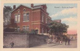 Herstal - Ecole Du Centre (colorisée, Animée, Legia) - Herstal