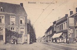 Herstal - Rue Large-Voie (animée, Café, Emile Dumont, 1919) - Herstal