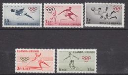 Ruanda-Urundi 1960 Olympische Spelen 5w ** Mnh (34330) - Ruanda-Urundi