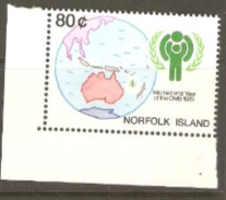 Norfolk Islands 1979 SG 229 International Year Of The Child Unmounted Mint - Ile Norfolk