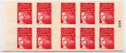 Carnet Neuf ** N° 3085-C3(Yvert) France 1998 - Marianne De Luquet, Le Timbre Un Plaisir Qui Se Communique - Carnets