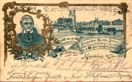 MAGDEBURG - Gruss Von Der XXIV. Hauptversammlung - Wilhelm Stolze - Etat - Magdeburg