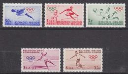 Belgisch Congo 1960 Olympische Spelen 5w ** Mnh  (34330) - Belgisch-Kongo