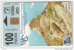Montenegro 50.000 / 08.2000. 100 Imp.
