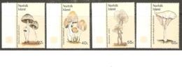 Norfolk Islands 1983 SG 300-03 Fungi Unmounted Mint - Ile Norfolk
