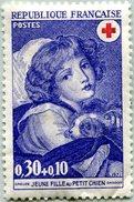 N° Yvert & Tellier 1700 - Timbre De France (1971) - Croix-Rouge - MNH (Sans Gomme) - Jeune Fille Au Petit Chien (Greuze) - France