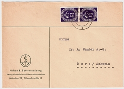 BRD, Nr. 129, Portogerechte MeF, Mi. 120.- +, #6574 - Briefe U. Dokumente