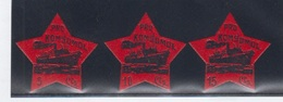 AFINET 1806/08 *  PRO KONSOMOL - Spanish Civil War Labels