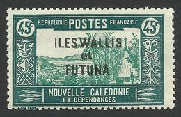 Wallis And Futuna, 45 C. 1940, Sc # 56, MNH - Nuovi