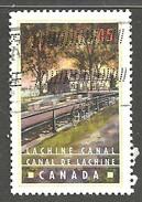 Sc. #1731 Canals, Lachine Canal Single Used 1998 K514 - 1952-.... Règne D'Elizabeth II