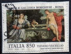 PIA : ITA : 1995 : Tesori Dei Musei Italiani : Tiziano Vecellio   - (SAS 2158) - 6. 1946-.. Republic