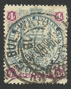 Rhodesia, British South Africa Company, 4 P, 1897, Sc # 54, Mi # 53, Used, - Great Britain (former Colonies & Protectorates)