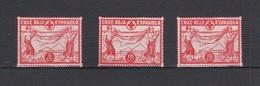 AFINET 191/93 * CRUZ ROJA ESPAÑOLA - Spanish Civil War Labels
