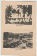 HANUABADA (PAPOUASIE NOUVELLE GUINEE) - VILLAGE SUR PILOTIS - Papouasie-Nouvelle-Guinée