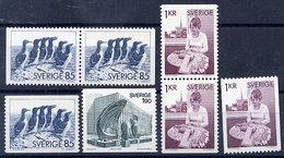 SWEDEN 1976 Definitives MNH / **.  Michel 936-38 - Sweden