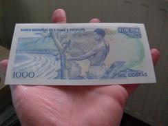 1000 Dobras SAINT THOMAS Et PRINCE 1982 P.059 NEUF!! - Billetes