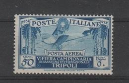 1931 Libia 5 Fiera Tripoli P.a. 50 C.MNH - Libia