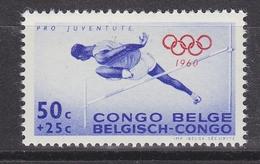 Belgisch Congo 1960 Olympische Spelen 50c Hoogspringen 1w ** Mnh (34311) - Belgisch-Kongo