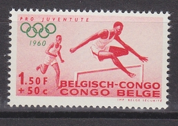 Belgisch Congo 1960 Olympische Spelen 1.50 Lopen 1w ** Mnh (34311A) - Belgisch-Kongo