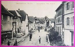 Cpa Dammekirch 1914 Carte Postale Dannemarie 68 Alsace  Proche Altkirch Burnhaupt Mulhouse - Dannemarie