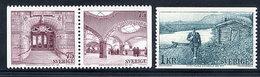 SWEDEN 1974 UPU Centenary MNH / **.  Michel 859-61 - Sweden